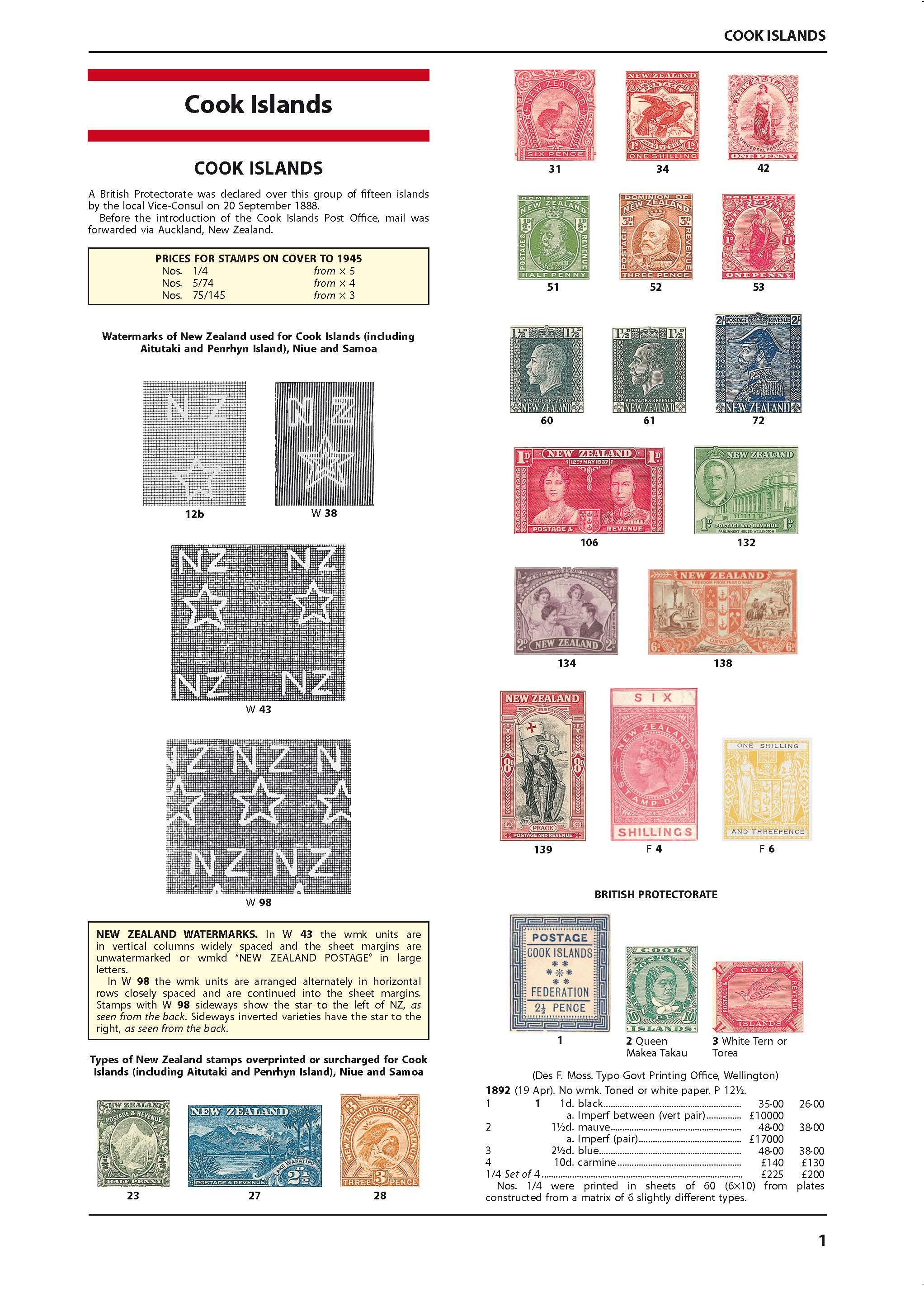 Eastern Pacific Stamp Catalogue 3rd Edition