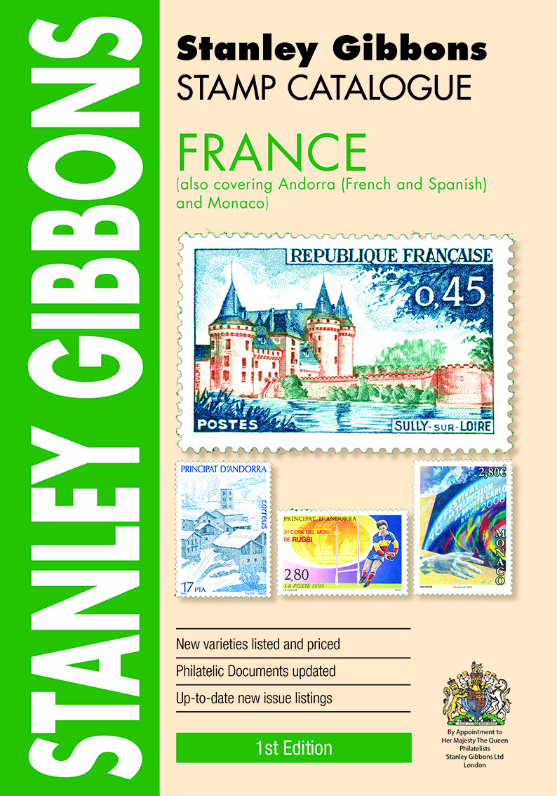 France Stamp Catalogue 1st Edition