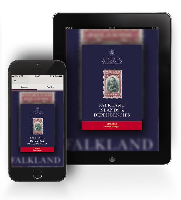 DIGITAL VERSION - Falkland Islands Stamp Catalogue 8th Edition