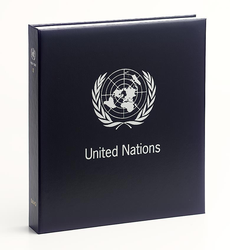 United Nations New York Luxe Binder Volume 1