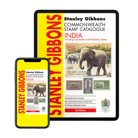 DIGITAL VERSION  - India & Indian States Stamp Catalogue 5th Edition