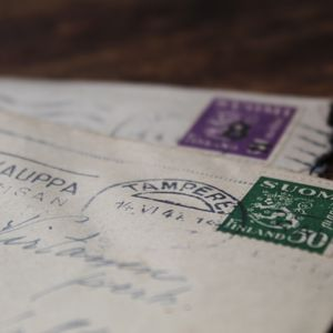 Large Letters used stamps