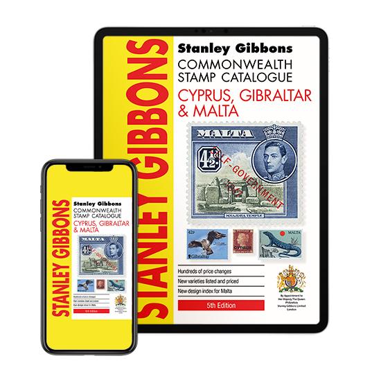 DIGITAL VERSION - Cyprus, Gibraltar & Malta Stamp Cat 5th Edition