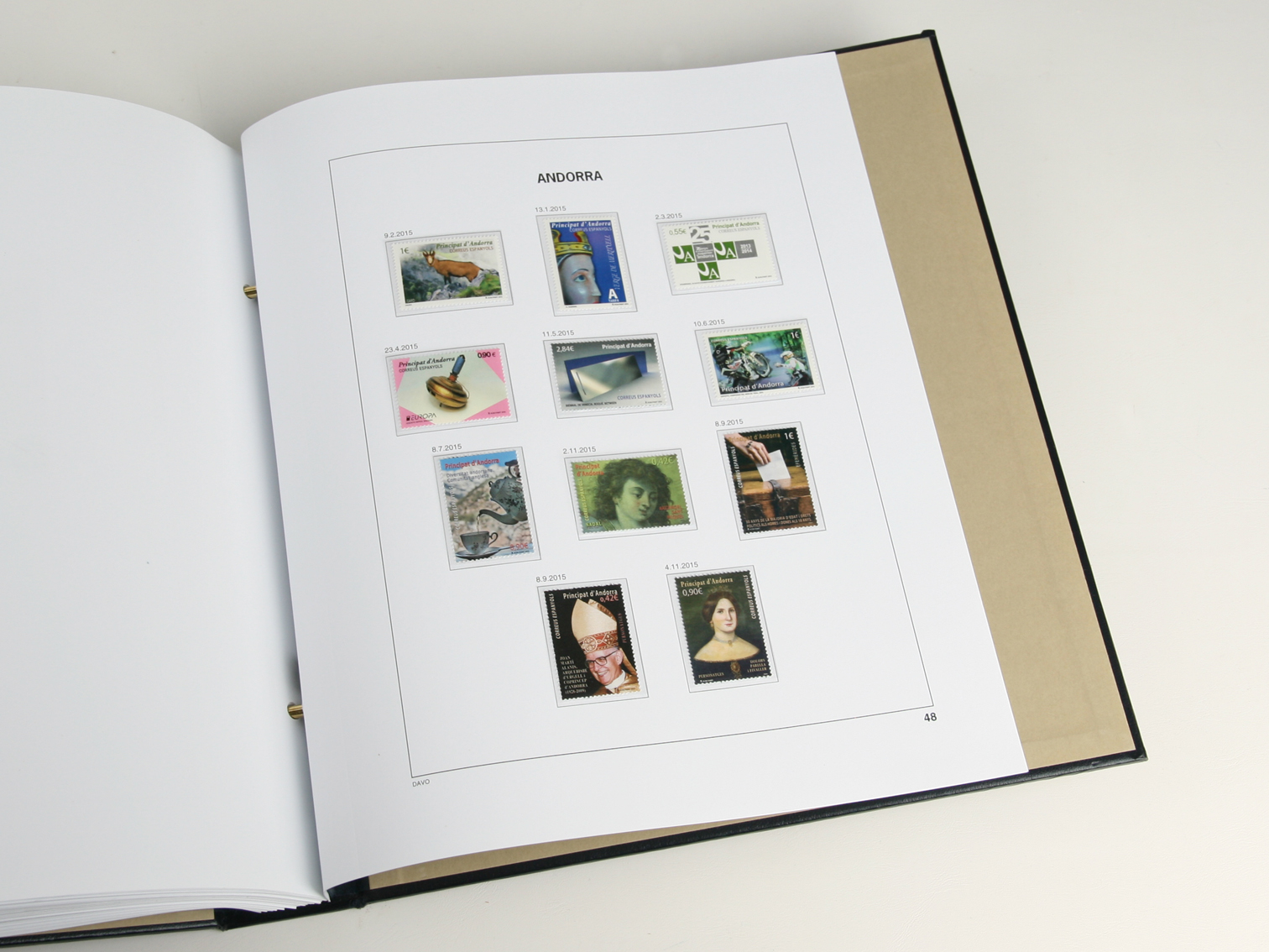 Andorra Spanish Luxe Binder Volume 2