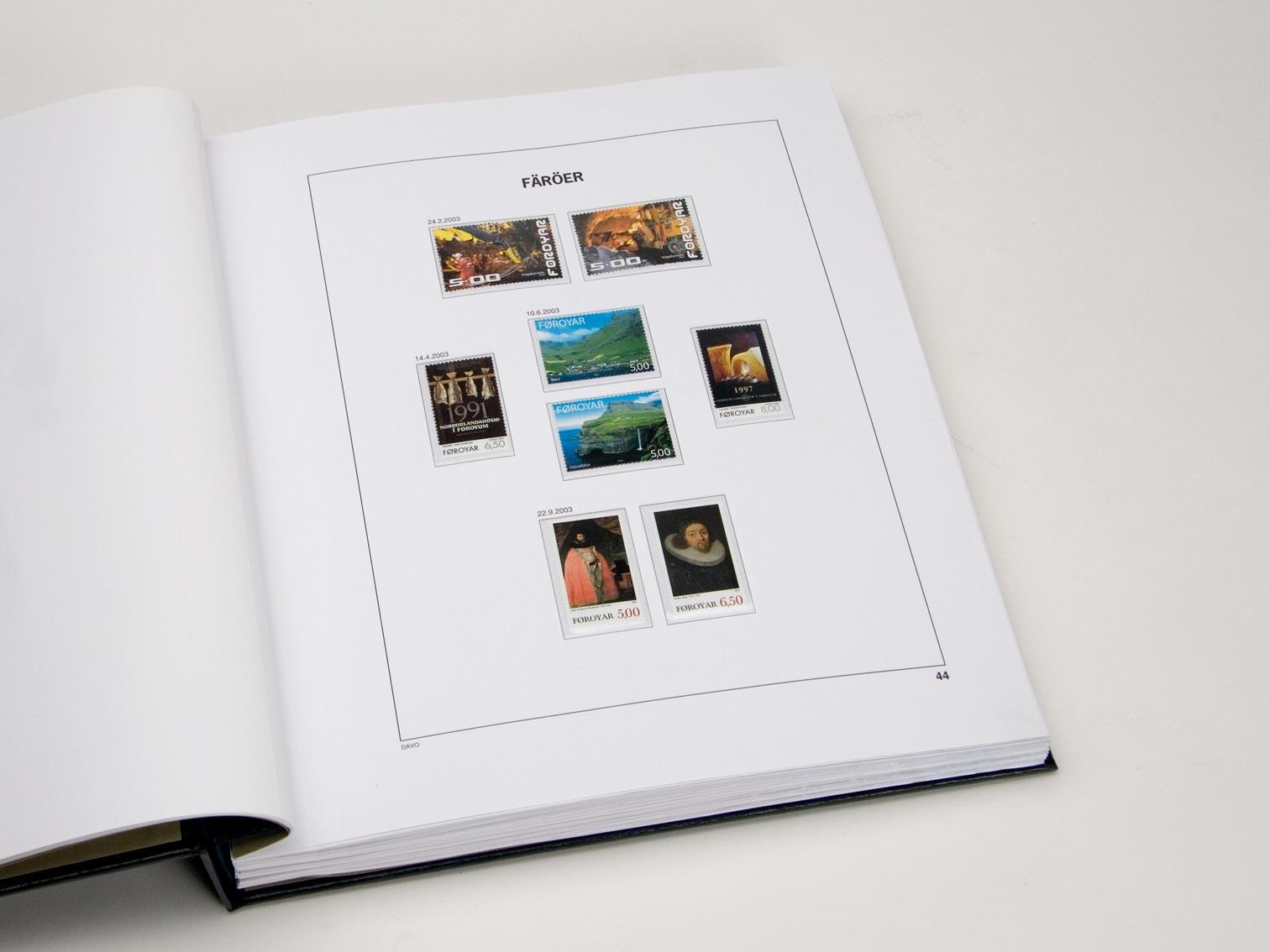 Faroe Islands Luxe Binder Volume 1