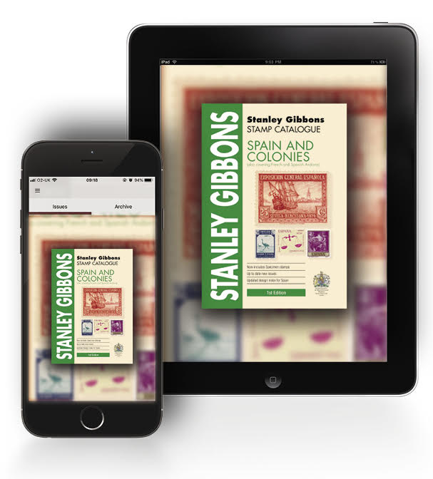 DIGITAL VERSION - Spain & Colonies Stamp Catalogue 1st Edition