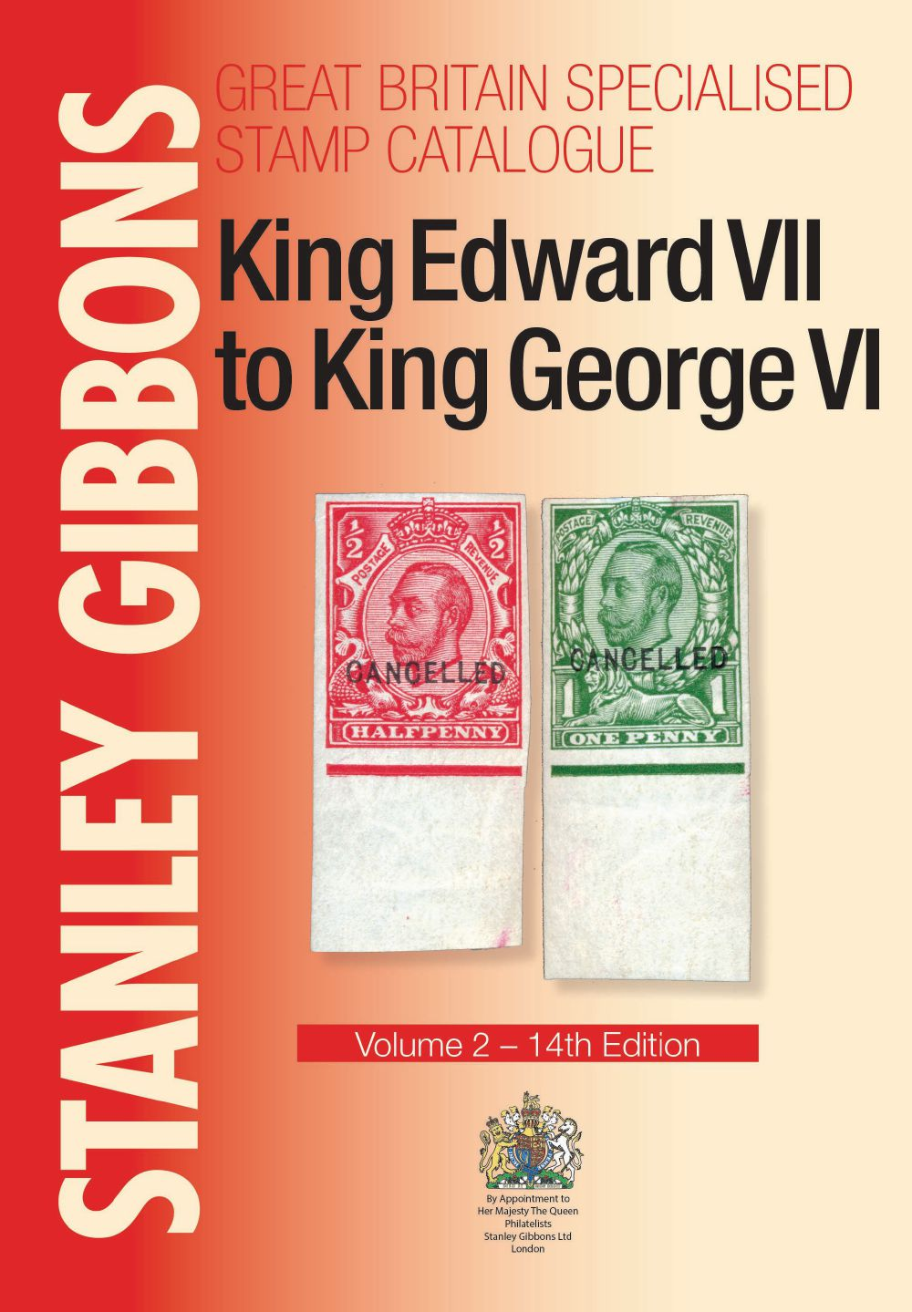 GB Specialised Volume 2 'Four Kings' Stamp Catalogue (14th Edition)