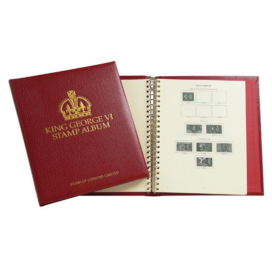 King George VI Album Set 1936-1952