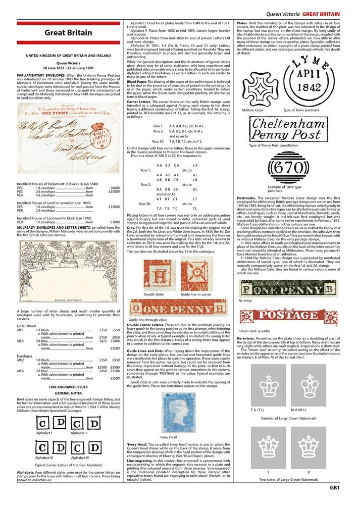 2022 Commonwealth & British Empire Stamp Catalogue 1840-1970