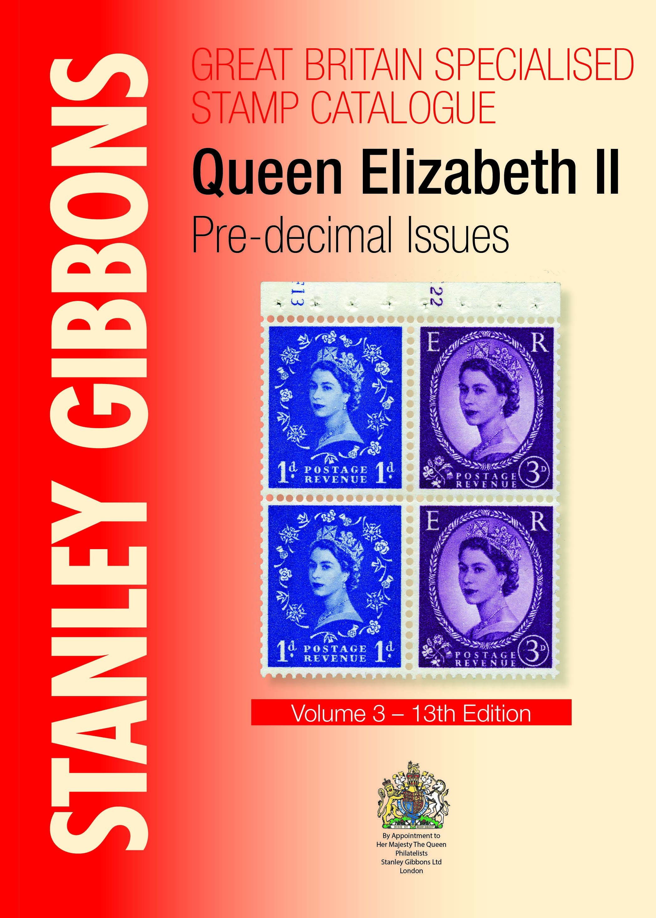 GB Specialised Stamp Catalogue QEII Pre-Decimal 13th Ed.