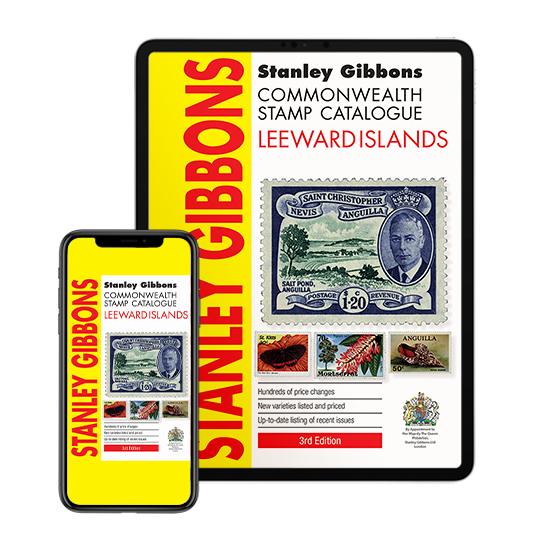DIGITAL VERSION - Leeward Islands Stamp Catalogue 3rd Edition