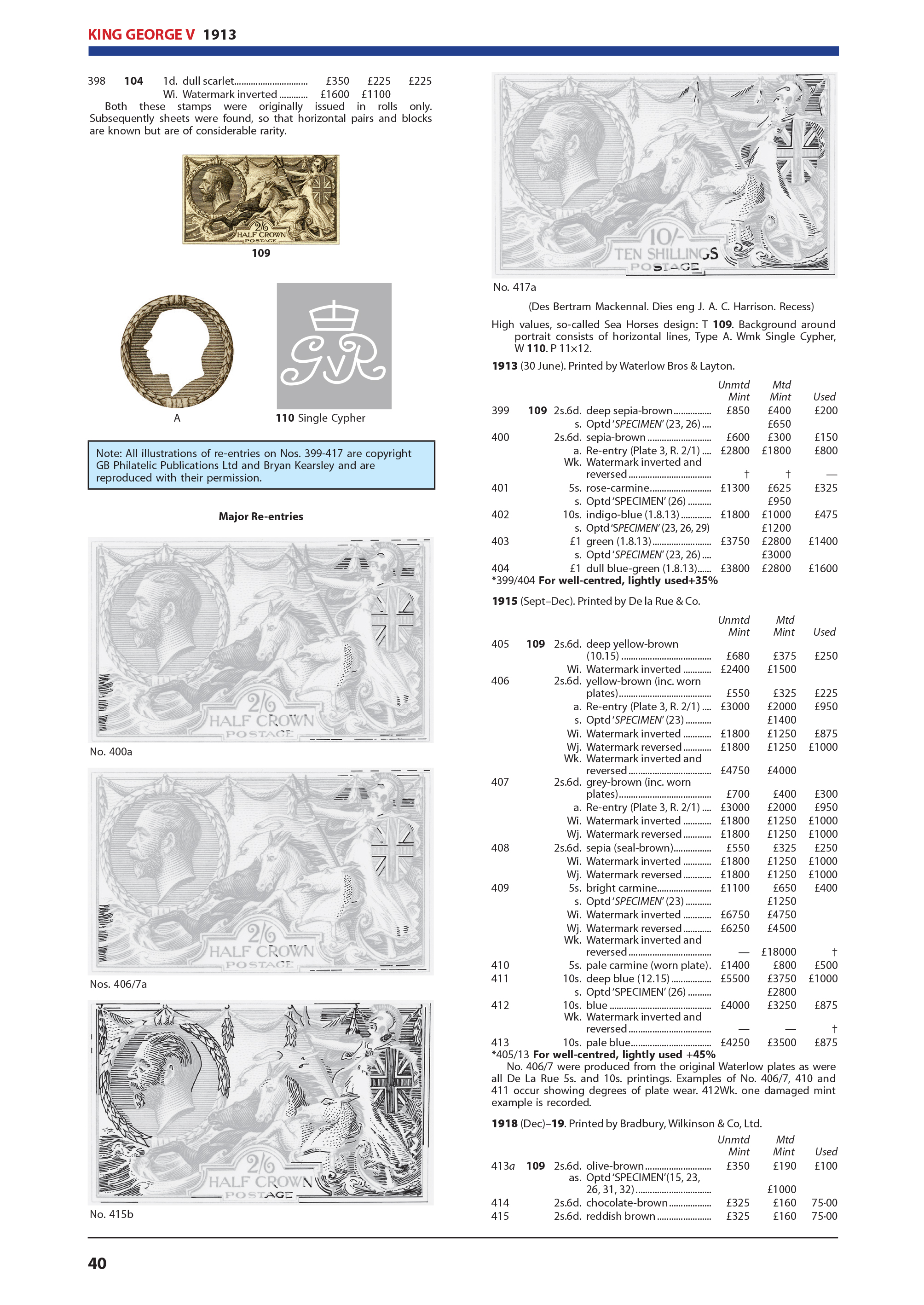 2021 Great Britain Concise Stamp Catalogue