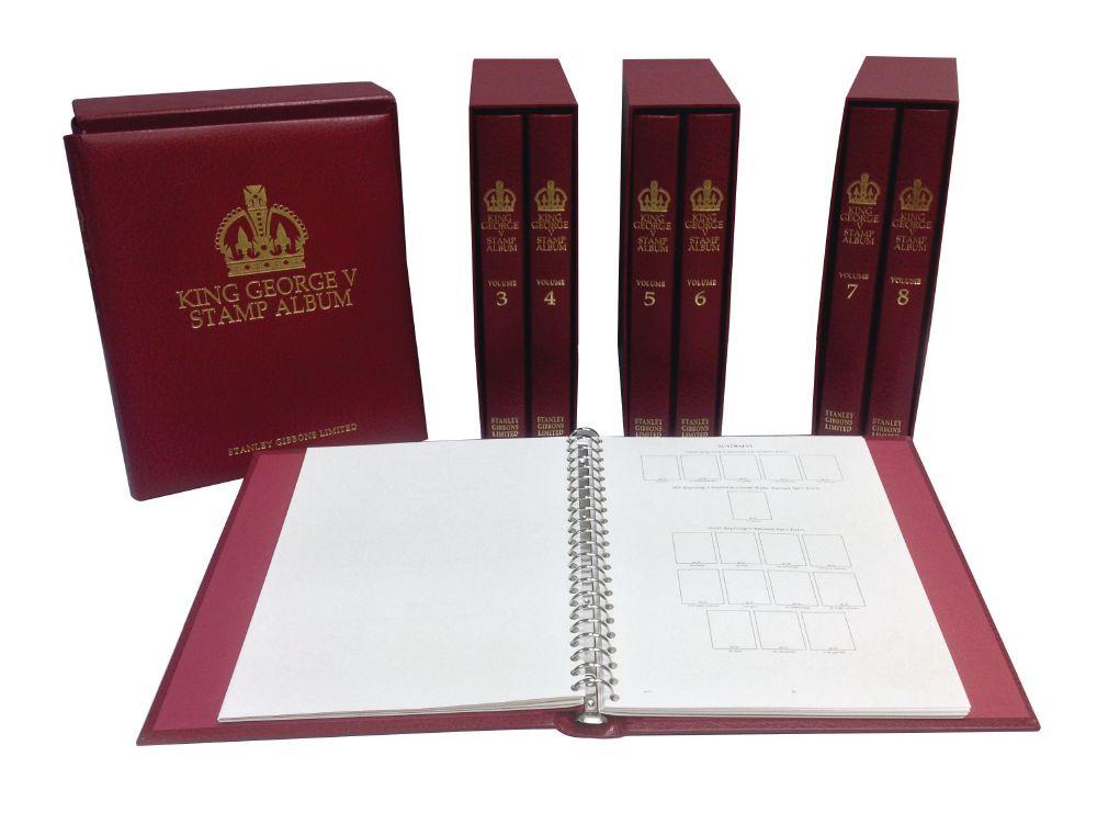 King George V Album Set  1910-1936