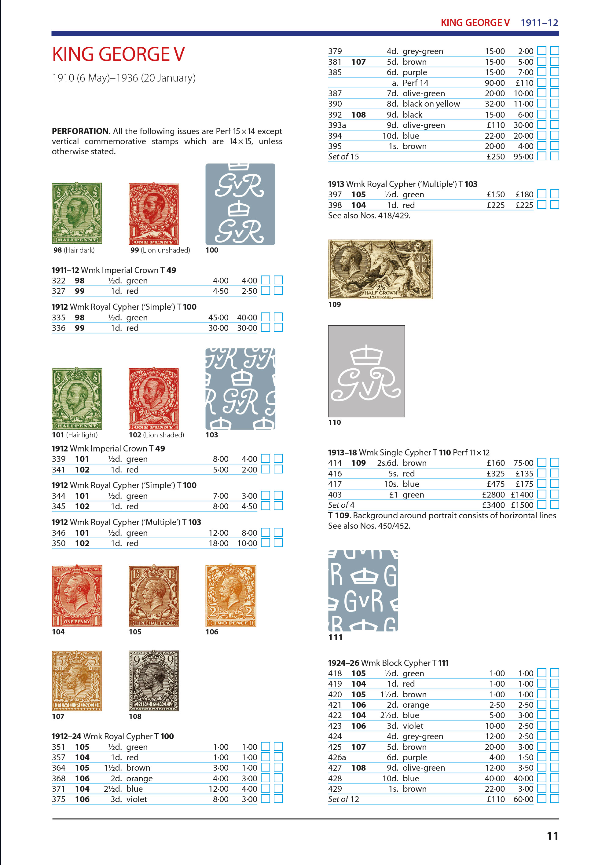 DIGITAL VERSION - 2021 Collect British Stamps Catalogue