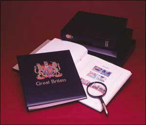 Printed Country Albums Great Britain Queen Elizabeth