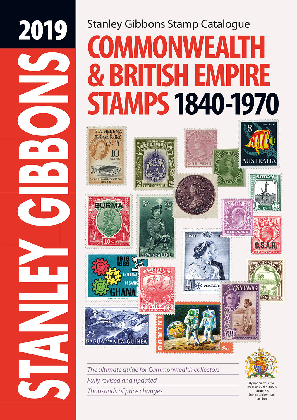 DIGITAL VERSION - 2019 CW & British Empire Stamp Catalogue