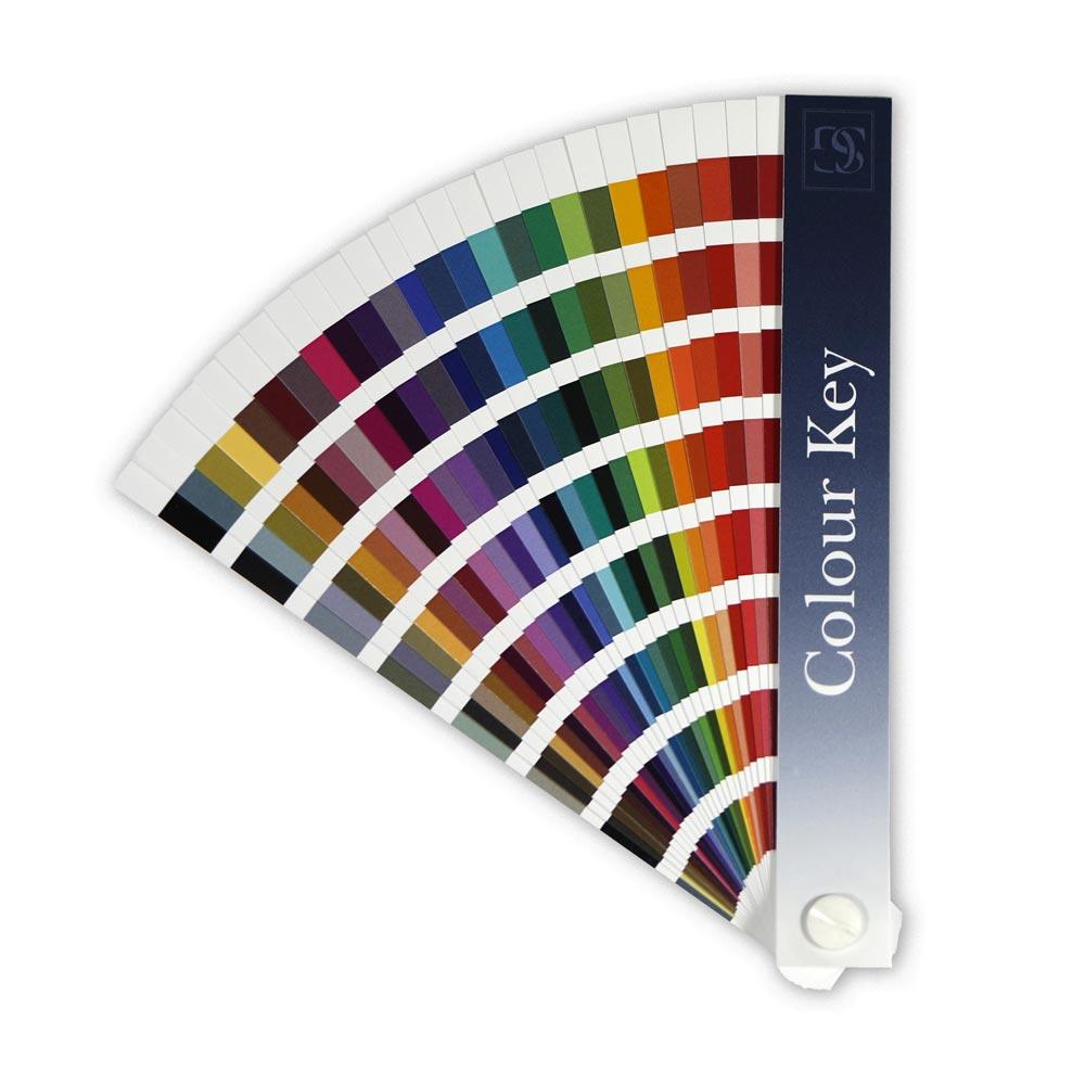 Stanley Gibbons Colour Key