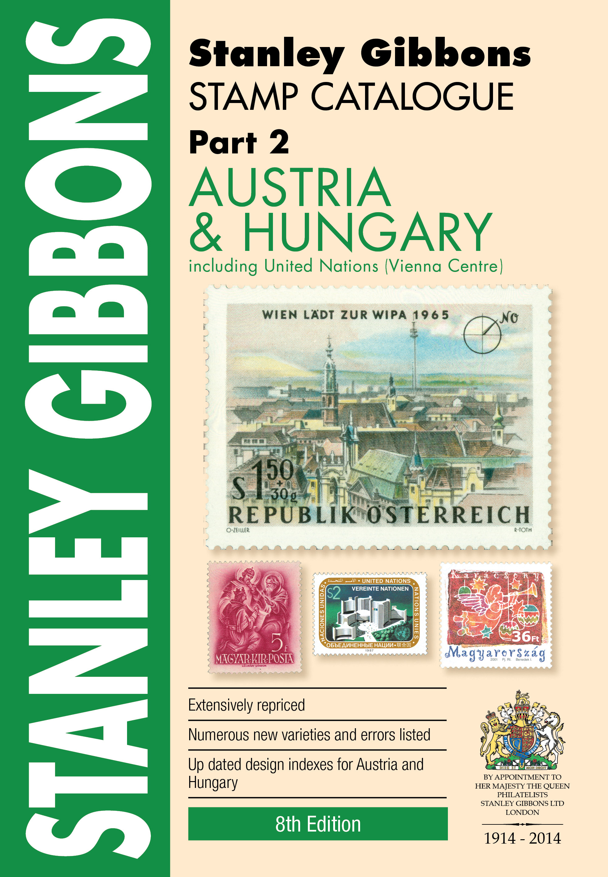 Austria & Hungary Stamp Catalogue 8th Edition