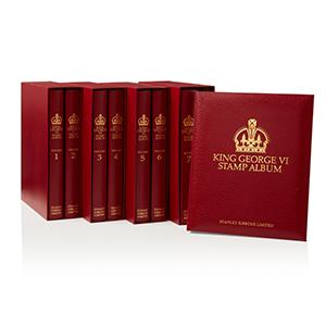 King George VI Album Set with Mounts 1936-1952