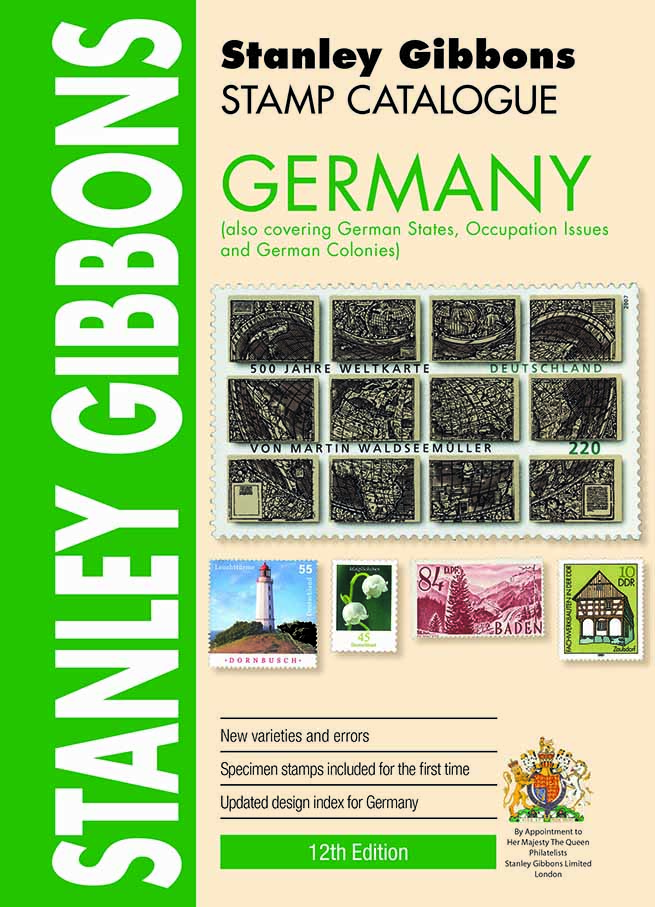DIGITAL VERSION  - Germany Stamp Catalogue 12th Edition