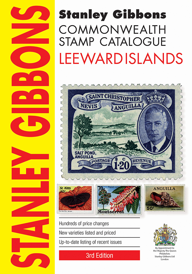 Leeward Islands Stamp Catalogue 3rd Edition