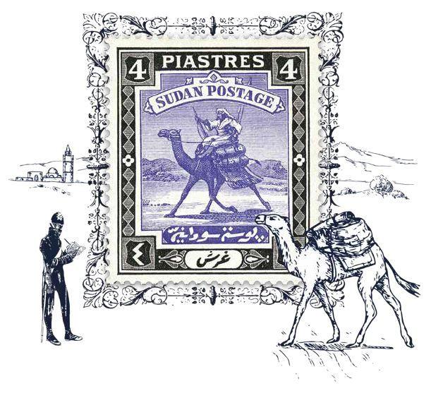 sudan camel postman