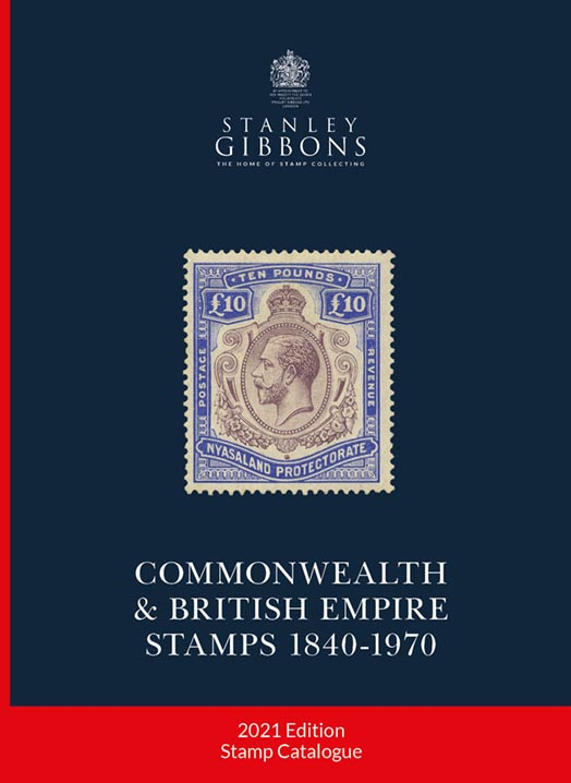 DIGITAL VERSION - 2021 Commonwealth & British Empire Stamp Catalogue 1840-1970