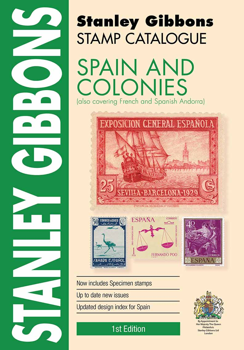 Spain & Colonies Stamp Catalogue 1st Edition