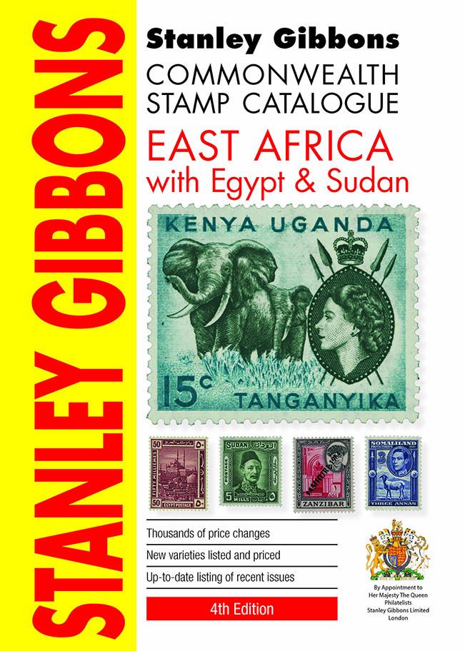 East Africa With Egypt & Sudan Stamp Catalogue 4th Edition