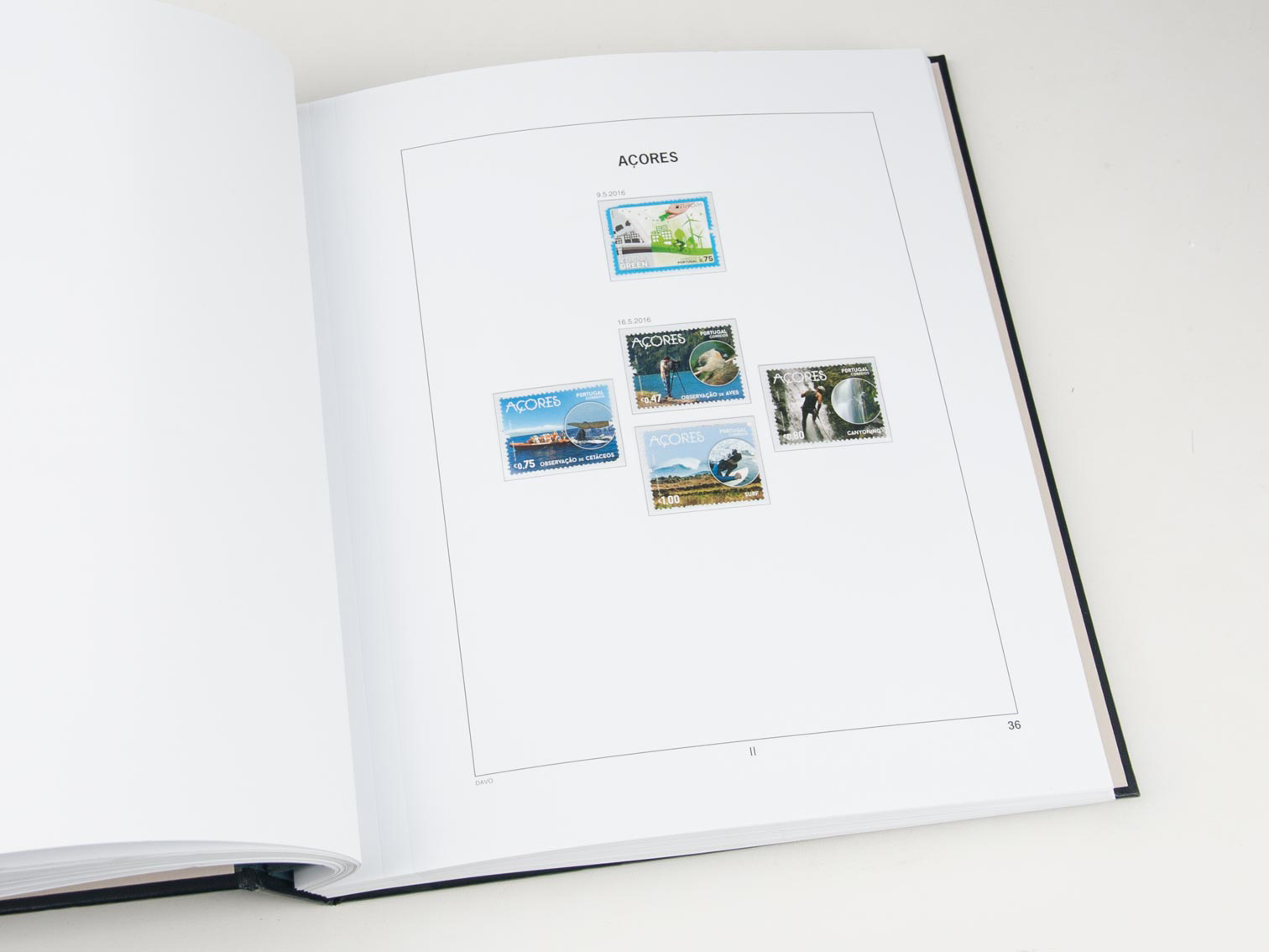 Azores/Madeira Luxe Binder Without Number