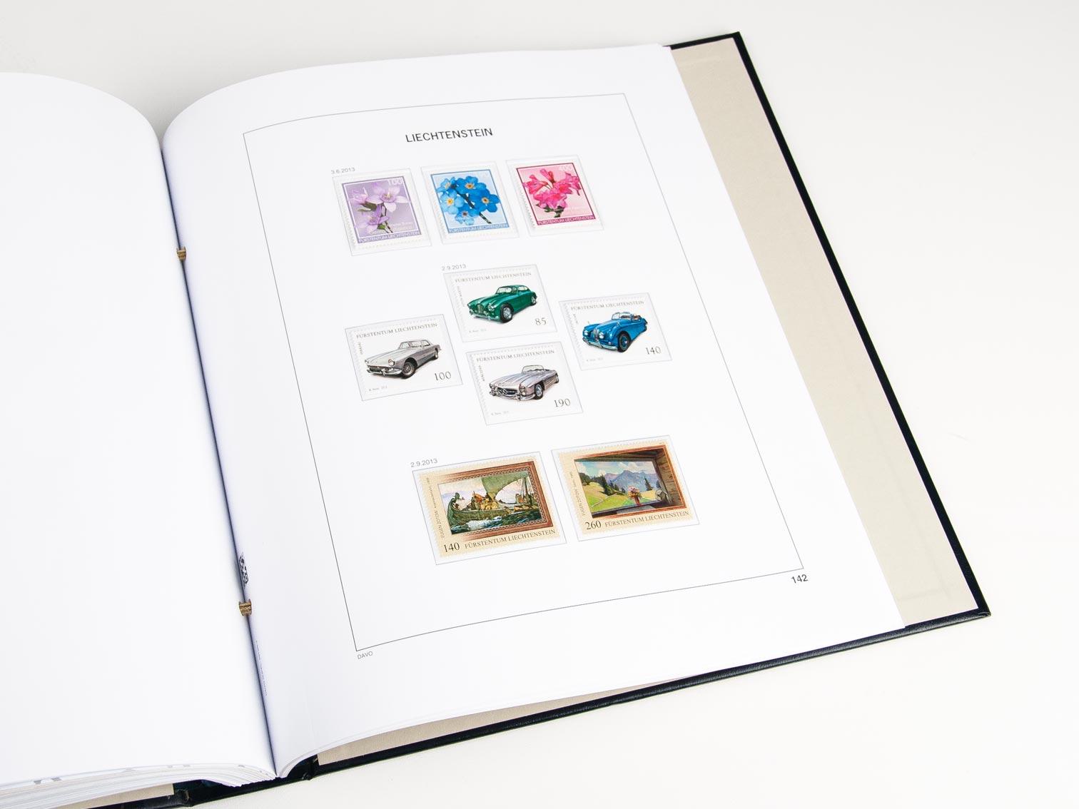 Liechtenstein Set Luxe Albums 1912-2019
