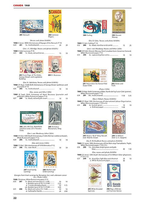 Canada & Provinces Stamp Catalogue 7th Edition