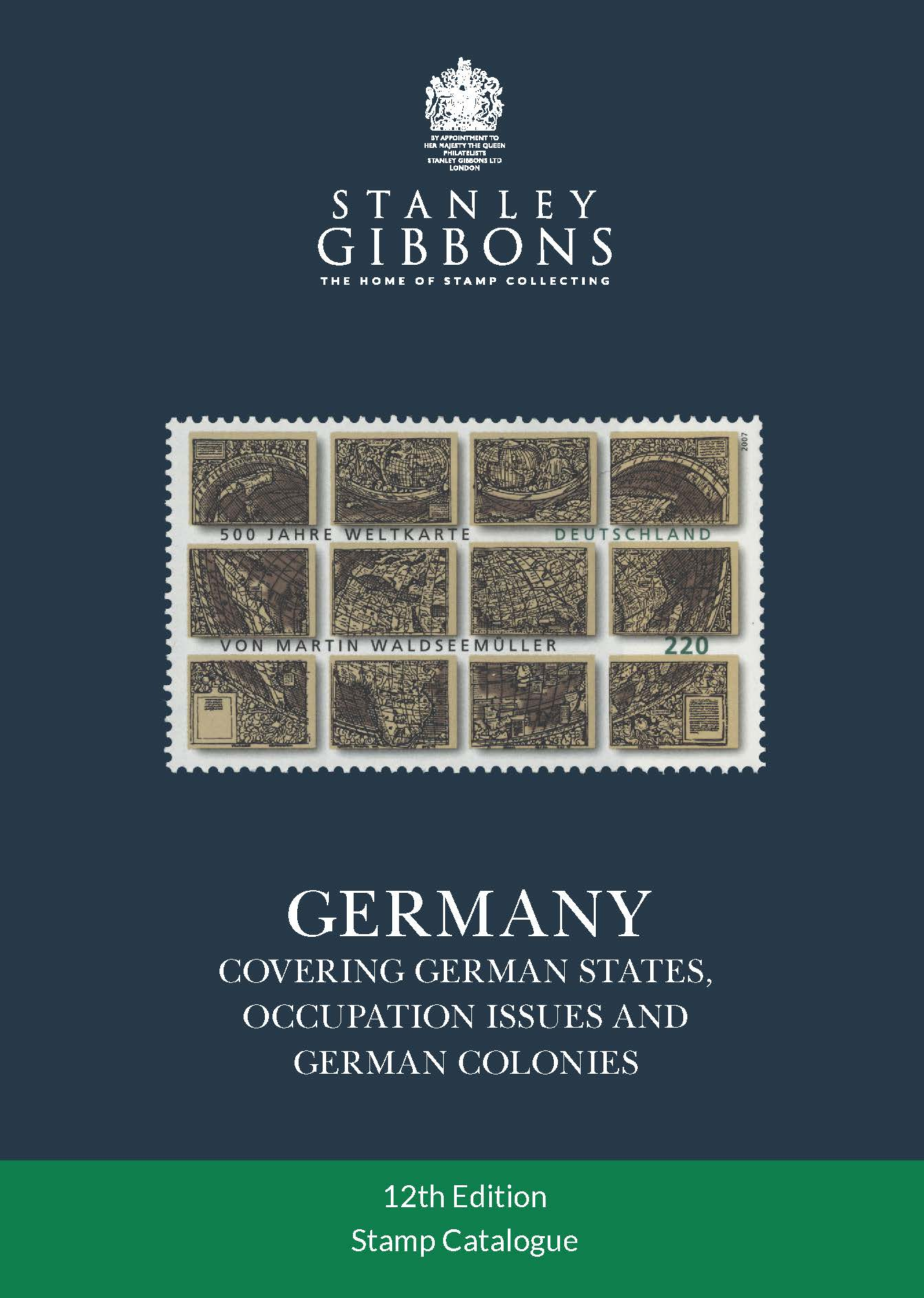 Germany Stamp Catalogue 12th Edition