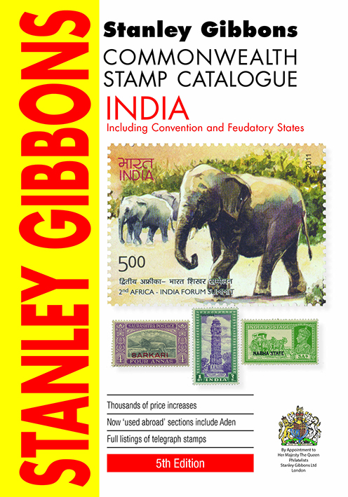 India & Indian States Stamp Catalogue 5th Edition