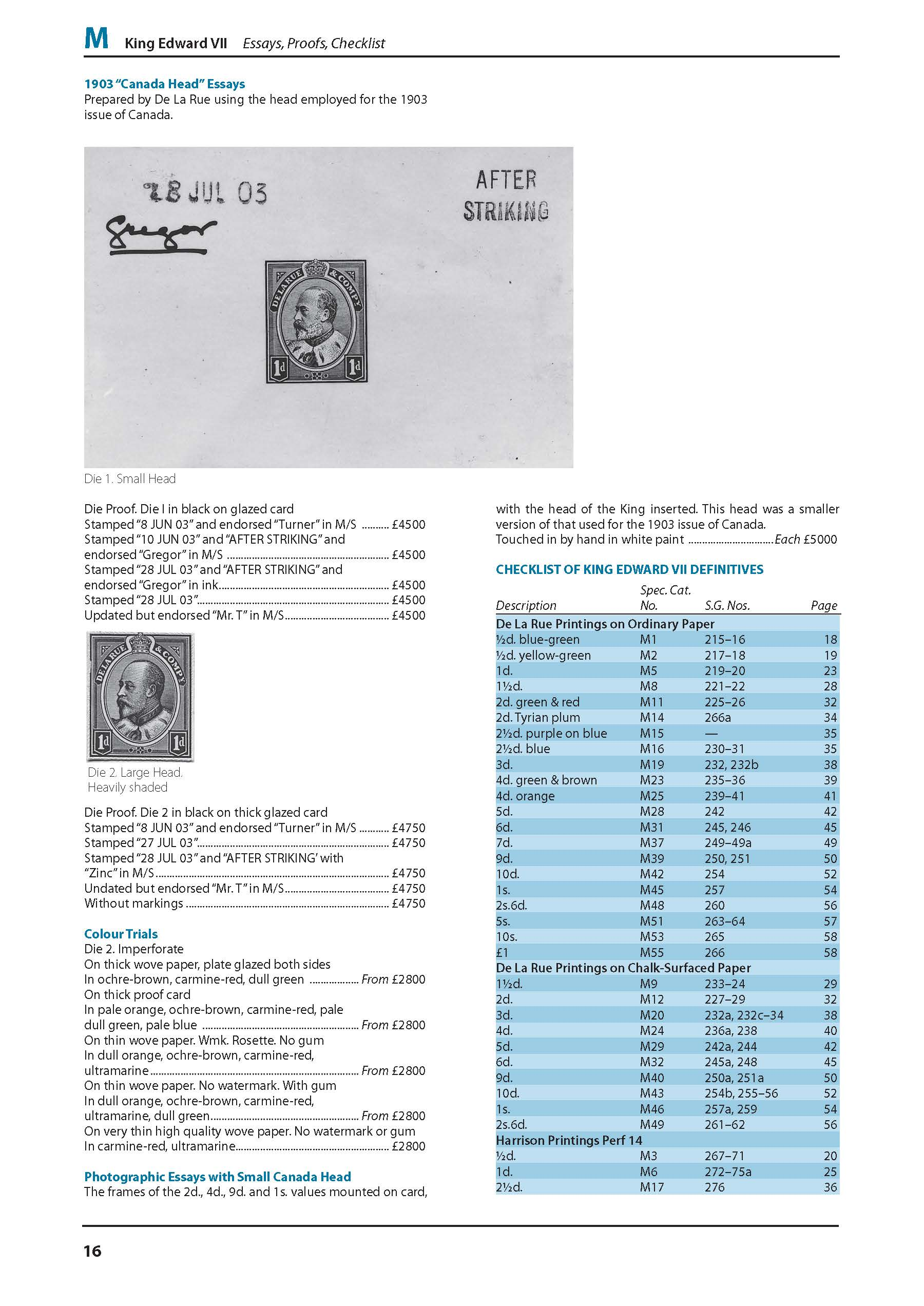 DIGITAL VERSION - Stamp Catalogue King Edward VII-George VI 14th Edition