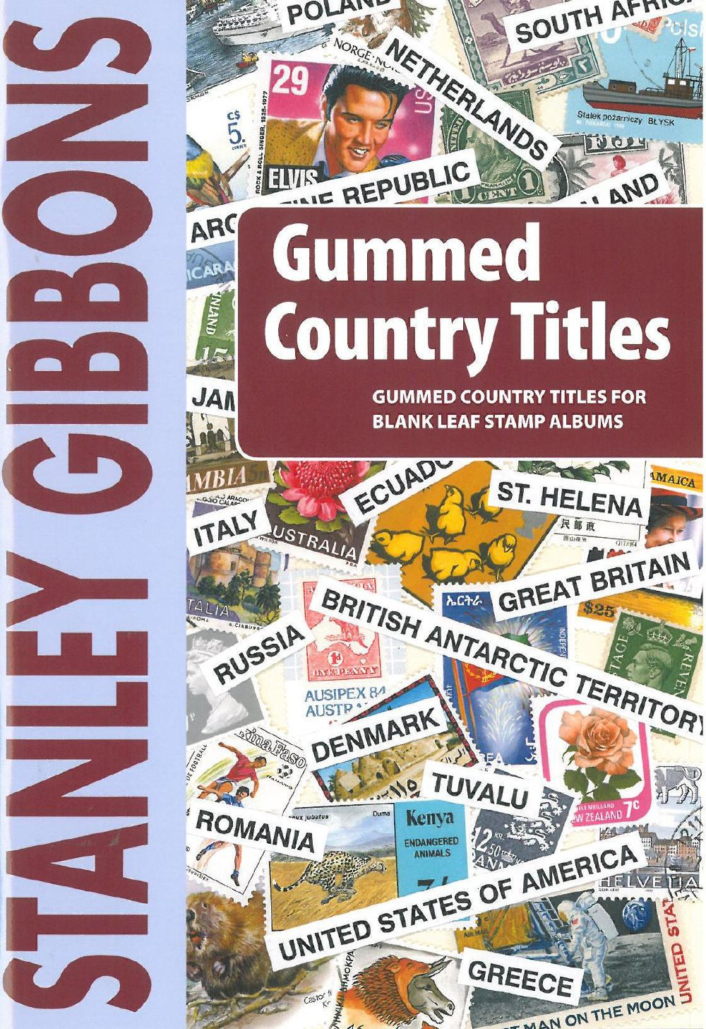 Gummed Country Titles
