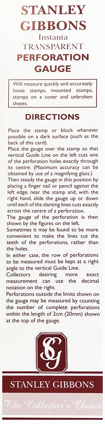 Instanta Perforation Gauge