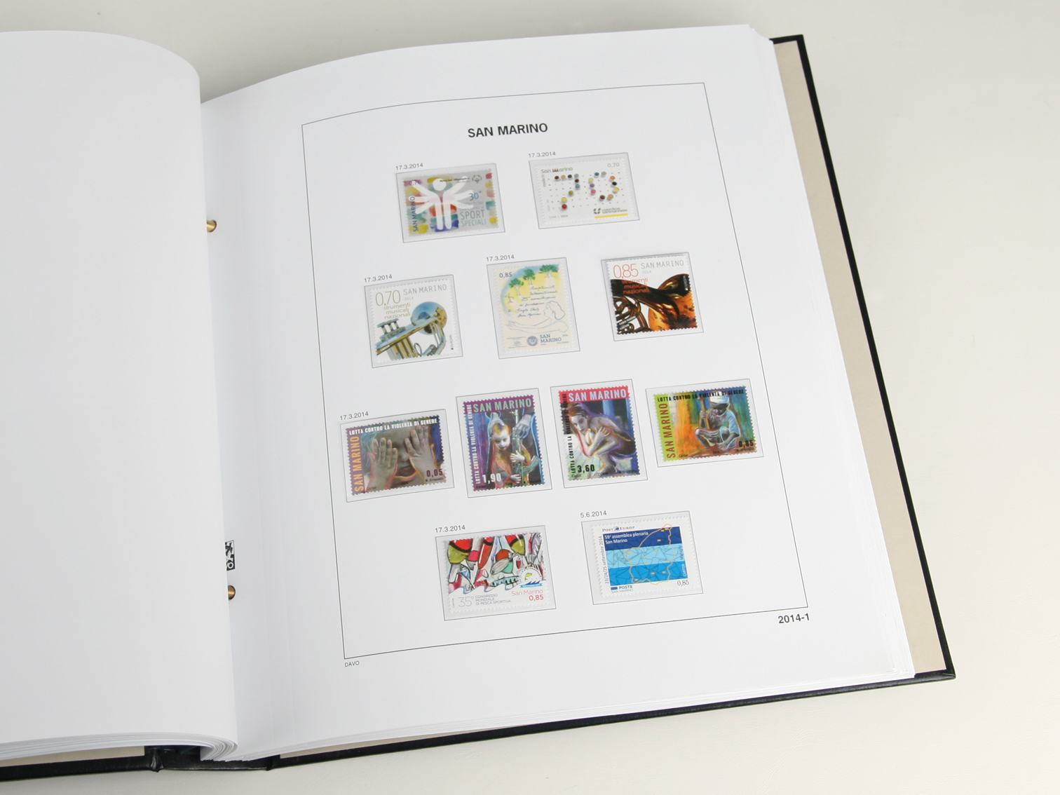 San Marino Luxe Album Volume 4 2012-2019