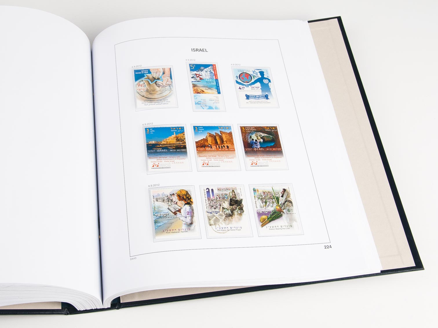 Israel Set Luxe Albums 1948-2019
