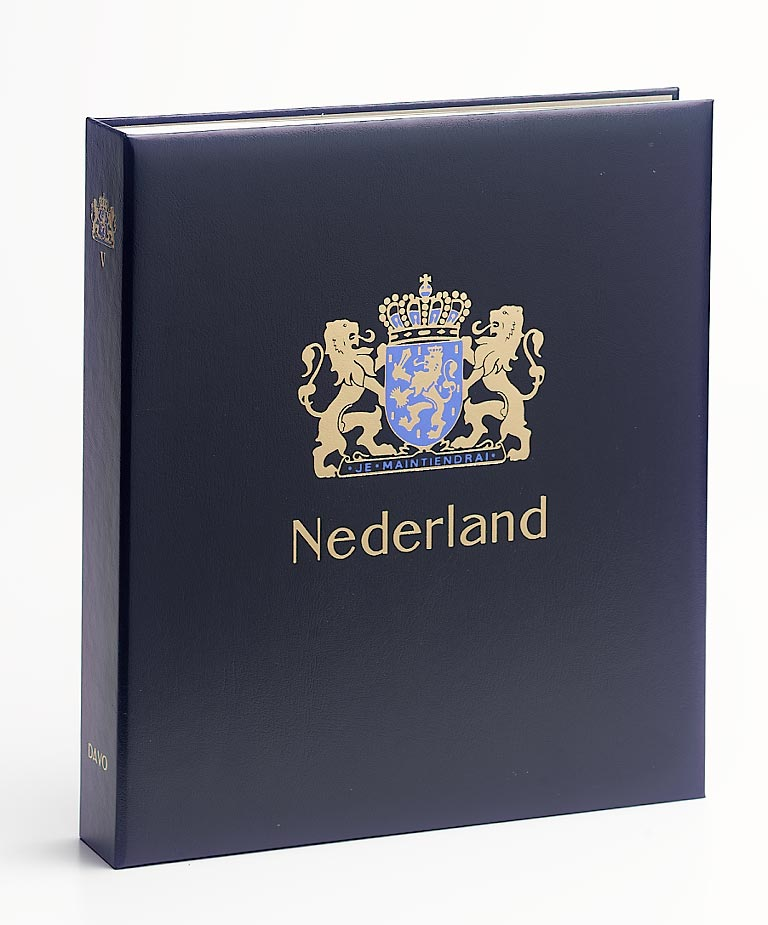 Netherlands Luxe Binder Without Number