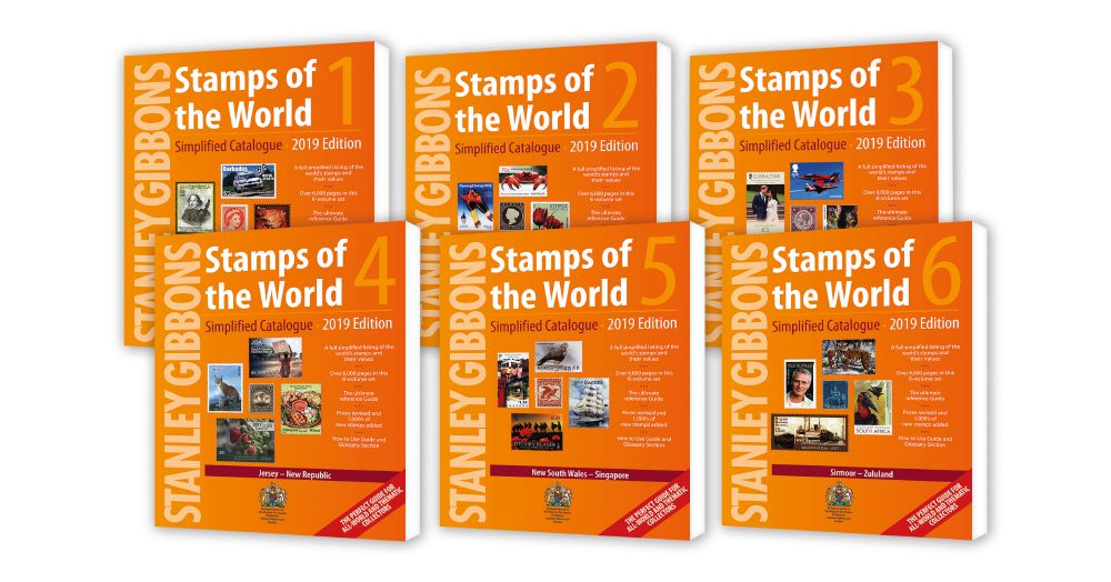 2019 Stamps Of The World - Set Of 6 Catalogues