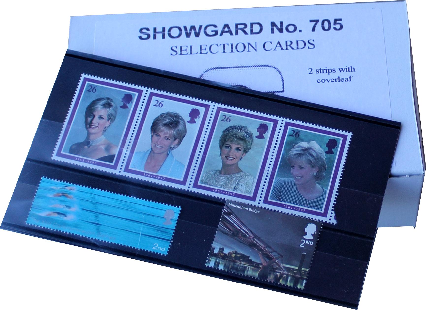Showgard 2 Strip Stockcards 145 x 85mm (Per 100)
