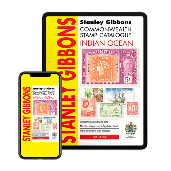 DIGITAL VERSION - Indian Ocean Stamp Catalogue 3rd Edition