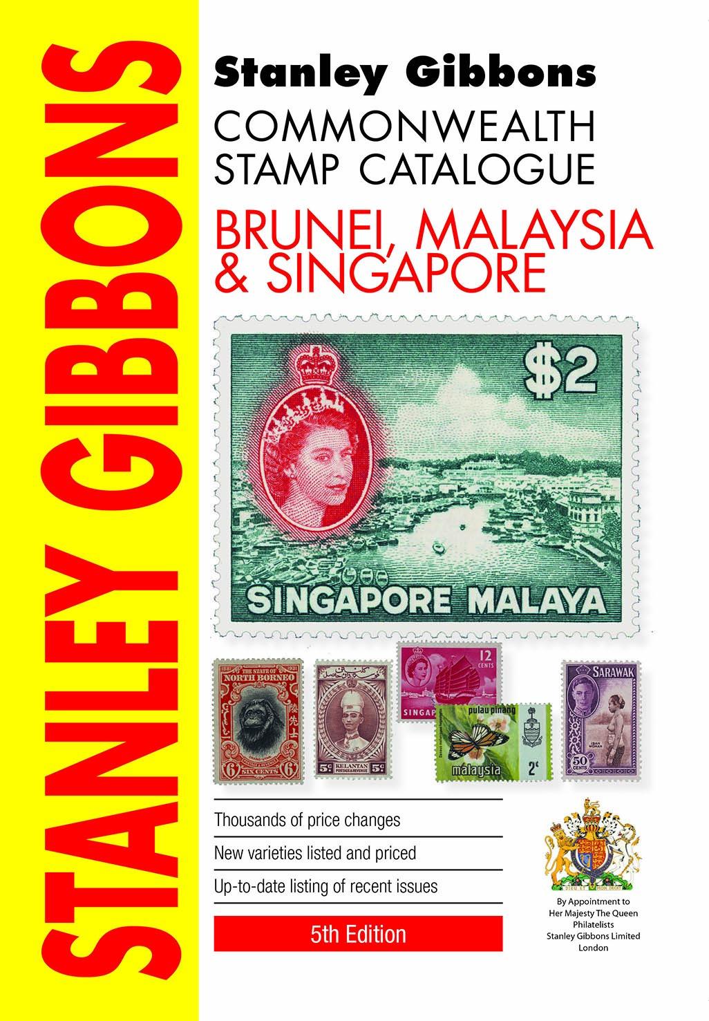 Brunei, Malaysia & Singapore Stamp Catalogue 5th Edition