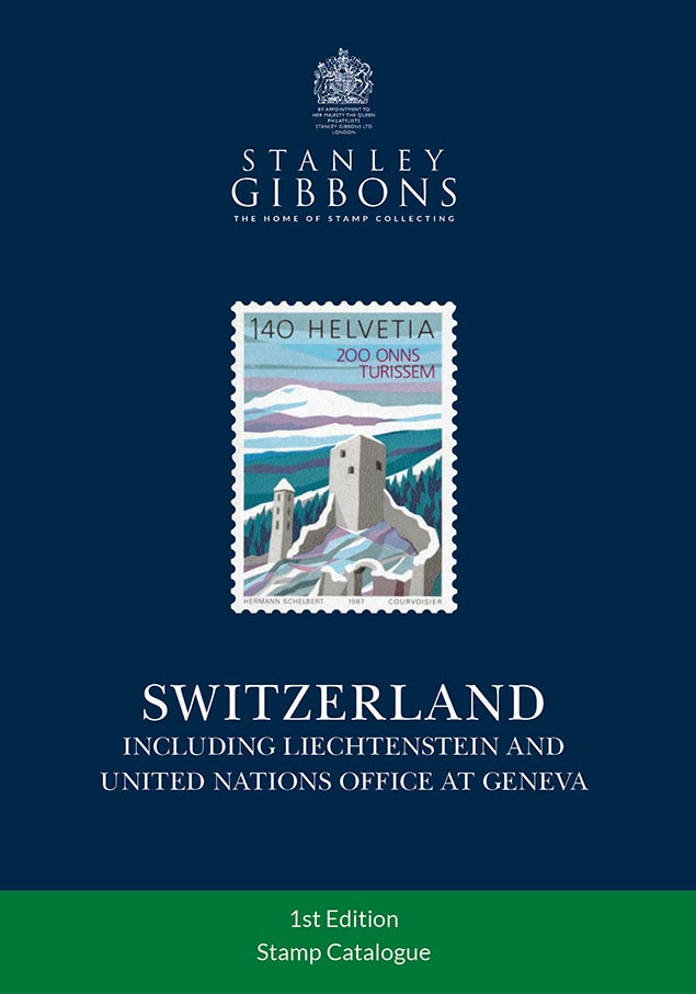 Switzerland Stamp Catalogue 1st Edition