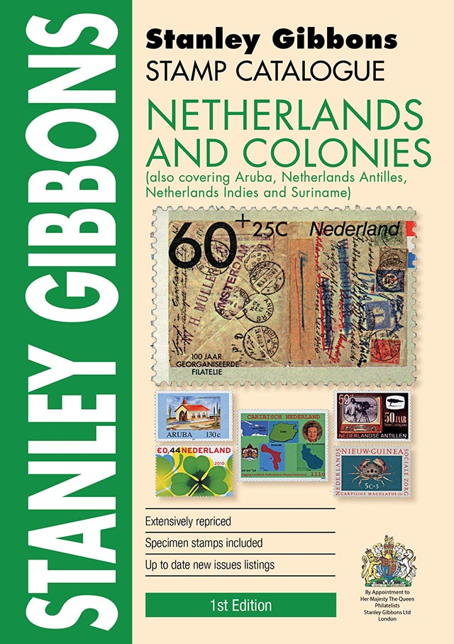 DIGITAL VERSION - Netherlands & Colonies Stamp Catalogue 1st Edition