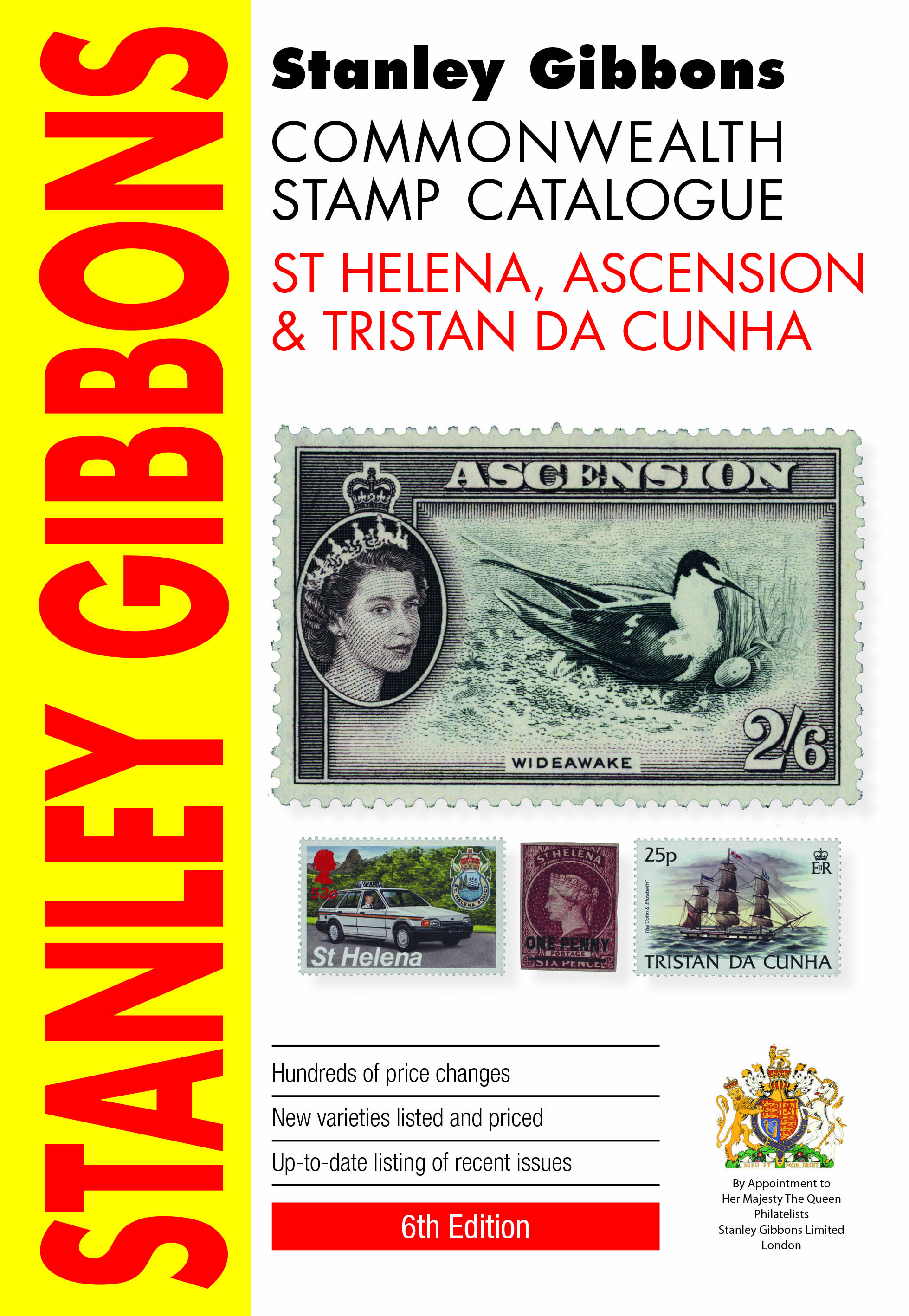 St Helena Ascension & Tristan Da Cunha Stamp Catalogue 6th