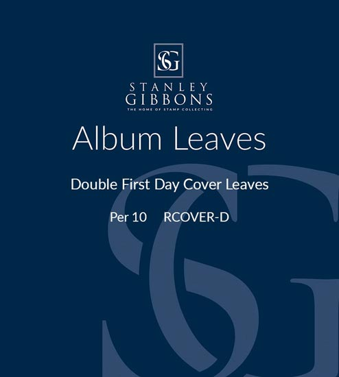SG Double First Day Cover Leaves Per 10